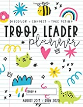 Troop Leader Planner: 2019-2020 Organizer For All Scouts & Multi-Level Troops (Doodles)