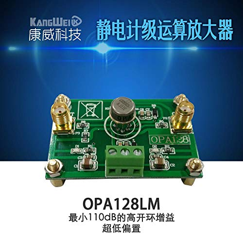 ESD-Operationsverstärker OPA128LM Low-Offset Low-Offset 110 dB Verstärkung mit hoher Impedanz