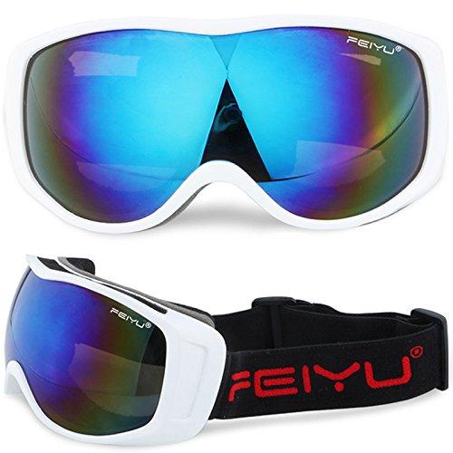 9df2d8241366 Men   Women Skiing Goggles Spherical UV Anti-fog Skiing Snowboard Glasses  Professional