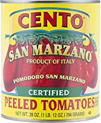 Perfect for making homemade sauces Cento certified San Marzano tomatoes are hand picked only when they are ripe Distinctive sun-ripened, sweet taste Allergen information: gluten_free