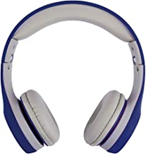 ATIVA On-Ear Headphones, Blue/Gray, WD-LG01-BLUE