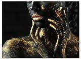 wandmotiv24 Leinwand-Bild Gold Collection, Größe 40x30cm,