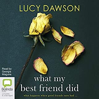 What My Best Friend Did                   Auteur(s):                                                                                                                                 Lucy Dawson                               Narrateur(s):                                                                                                                                 Georgia Maguire                      Durée: 8 h et 31 min     2 évaluations     Au global 4,5