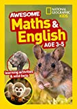 Awesome Maths and English Age 3-5 (National Geographic Kids)