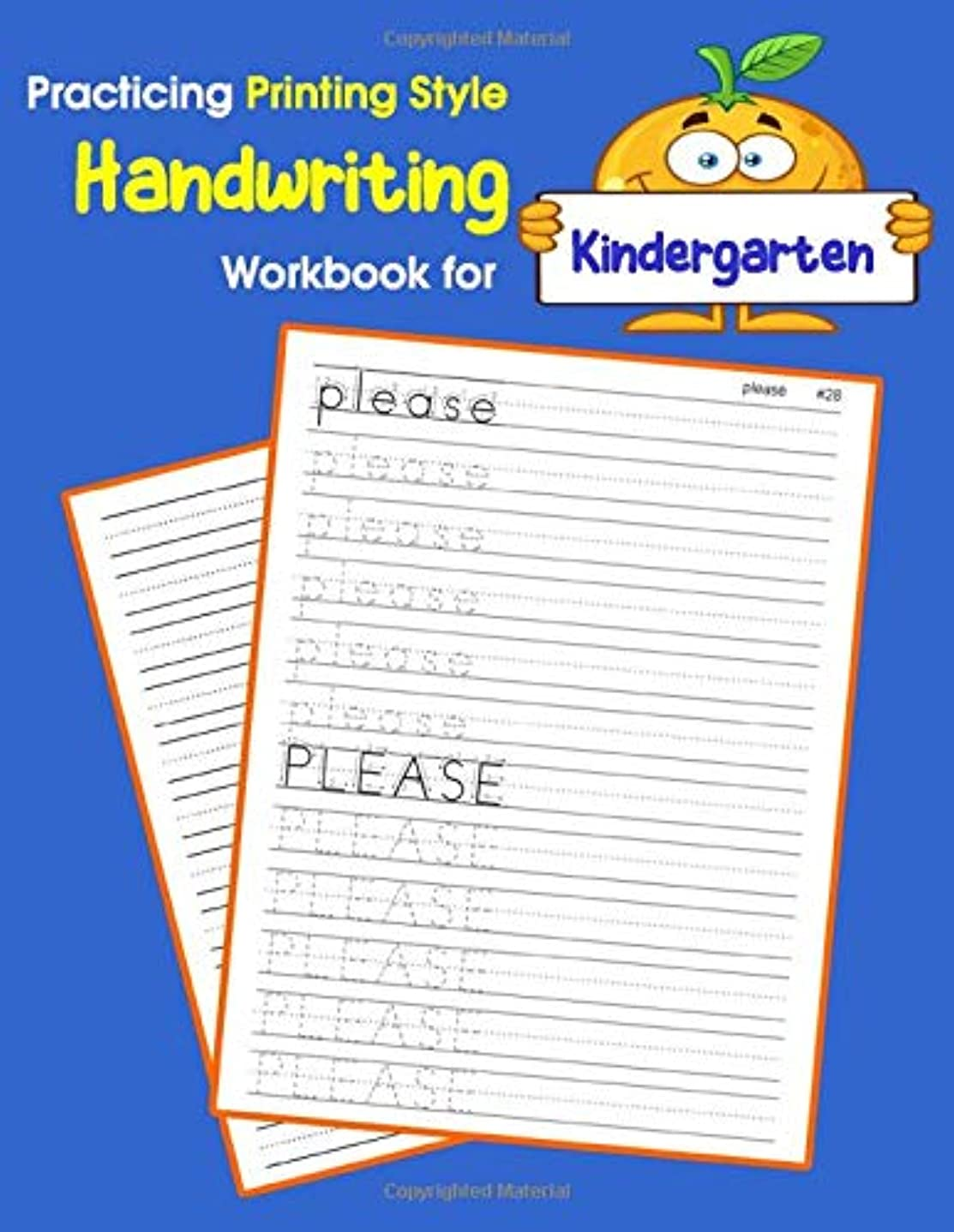 スクラッチリンク手Practicing Printing Style Handwriting Workbook for Kindergarten: Tracing and writing Dolch sight words kindergarten level (Dolch sight words Printing Style Handwriting)
