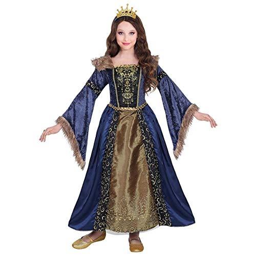 WIDMANN Srl disfraz Medieval de niña, Multicolor, wdm07136