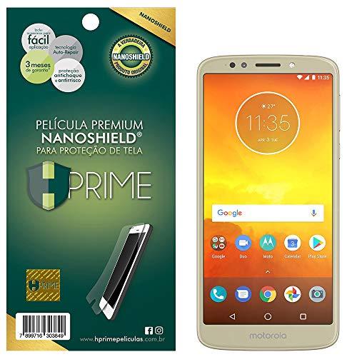 Pelicula HPrime NanoShield para Motorola Moto E5, Hprime, Película Protetora de Tela para Celular, Transparente