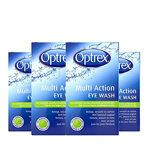 Optrex Multi Action Eye Wash - Oogdouche - 4 x 100 ml