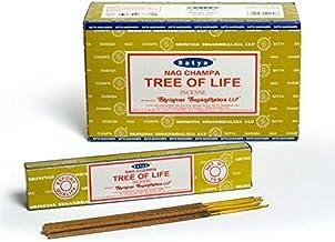 Satya Tree of Life Incense Sticks - 180 Grams - Premium Indian Incense