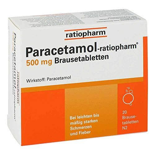 Paracetamol Ratiopharm 500 mg Brausetabletten