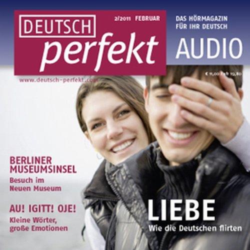 Deutsch perfekt Audio - Wie die Deutschen flirten. 2/2011 Titelbild
