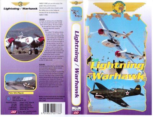 Famous Planes - P-38 Lightning / P-40 Warhawk (VHS)