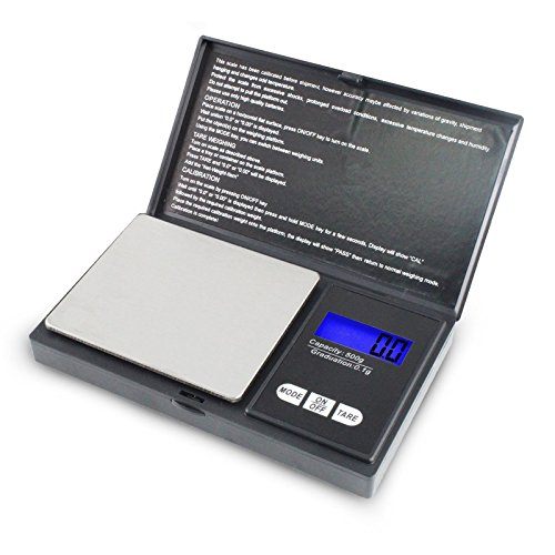 Weegschaal mini tas digitale weegschaal 0,1 g nauwkeurigheid 500 g capaciteit verkoper UK P258