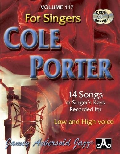 Play-A-Long Series, Vol. 117, Cole Porter For Singers (Book & 2-CD Set) (Jazz Sing-A-Long)