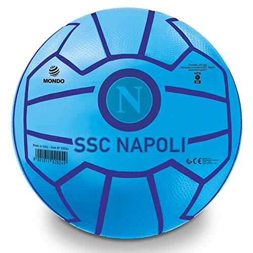 Mondo Toys - Pallone da CalcioSSC Napoli - Super Santos - per bambina/bambino - colore azzurro - 02024