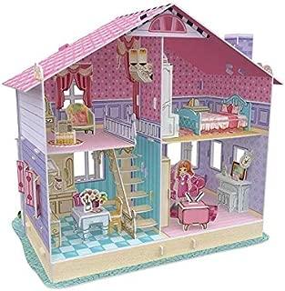 Deram Dollhouse-Carries Home CubicFun 3D Puzzle P679h 93 Pieces