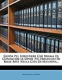Guida Pel Forestiere Che Brama Di Conoscere Le Opere Piu Pregevoli Di Belle Arte Nella Cita Di Mantova...