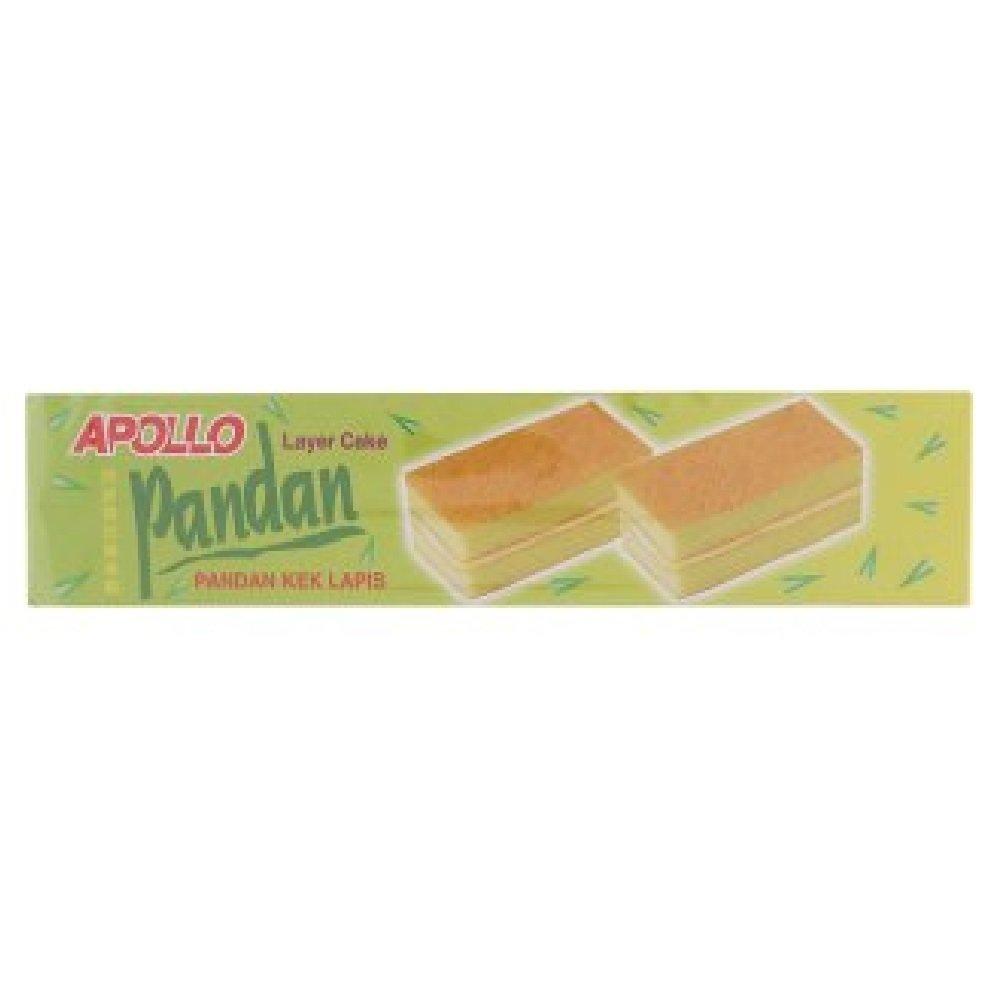 Elegant Apollo Layer Cake 18g 40 628MART Convi-Packs depot Pandan