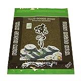 Hojas de alga Nori para sushi - 10 hojas