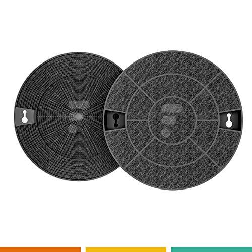 2 filtres à charbon FC16 - compatible Ikea nyttig Fil600 Whirlpool AMC912 Brandt AFC29 Aeg Type 29 Wpro CHF029/1