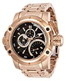 Invicta Men's Coalition Forces Quartz Watch with Stainless Steel Strap, Rose Gold, 26 (Model: 30381)
