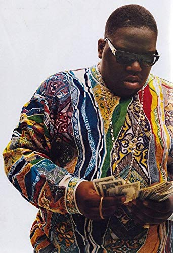 NOTORIOUS BIG 1996 VIBE MAGAZINE COVER 24 In x 36 In POSTER REPRINT OUT OF PRINT