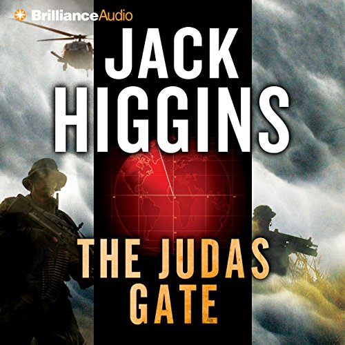 The Judas Gate audiobook cover art