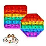 Sinwind Push Pop Bubble Sensory Fidget Toy, Giocattolo Sensoriale Giochi da Schiacciare Antistress...