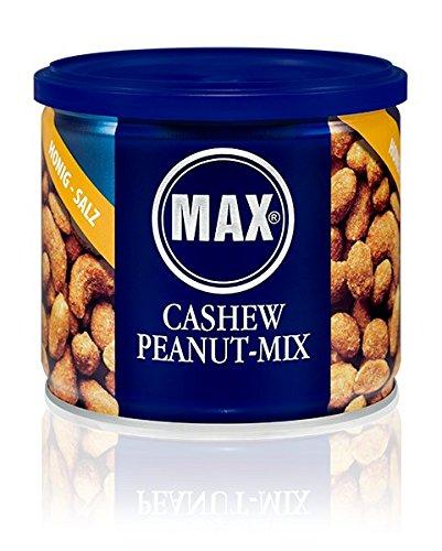 MAX CASHEW PEANUT-MIX - Honig - Salz (8er Karton)
