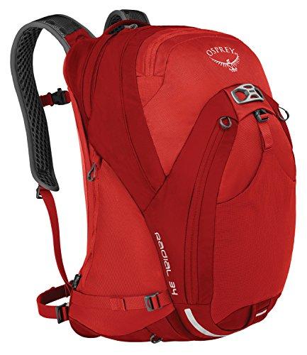 Osprey Packs Radial 34 Daypack, Lava Red, Small/Medium