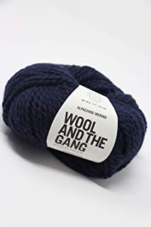 Wool & The Gang - Alpachino Merino Midnight Blue