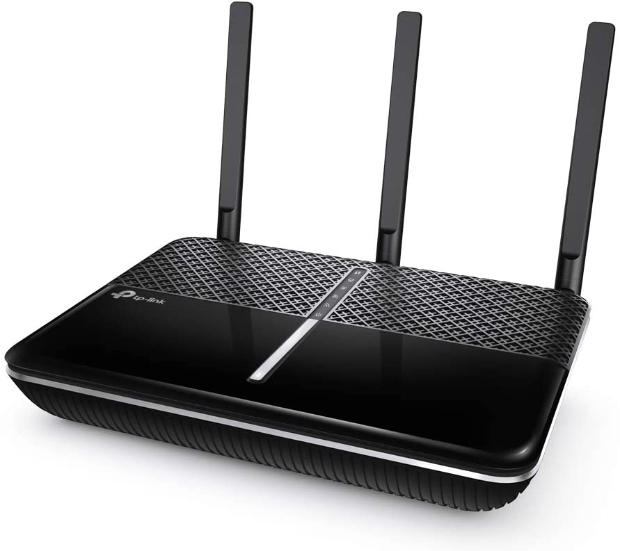 TP-Link AC2600 Smart WiFi Router - MU-MIMO, Gigabit Wireless Router, Full Gigabit Ethernet Ports, Beamforming, Long Range Coverage, VPN Server, Works with Alexa(Archer A10)