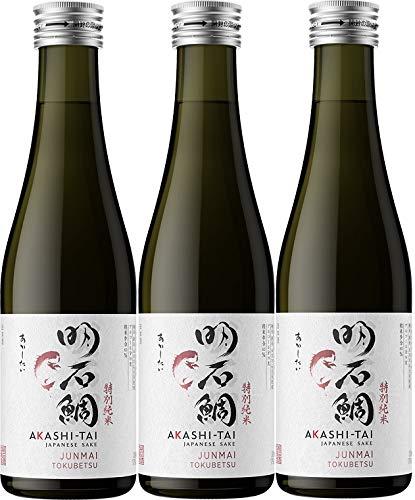 Akashi Sake Brewery Junmai Tokubetsu 15%vol (3 x 0.3 l)