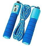 Cyleibe - Corda per saltare per bambini, con contatore, impugnatura comoda, per allenamento e fitness