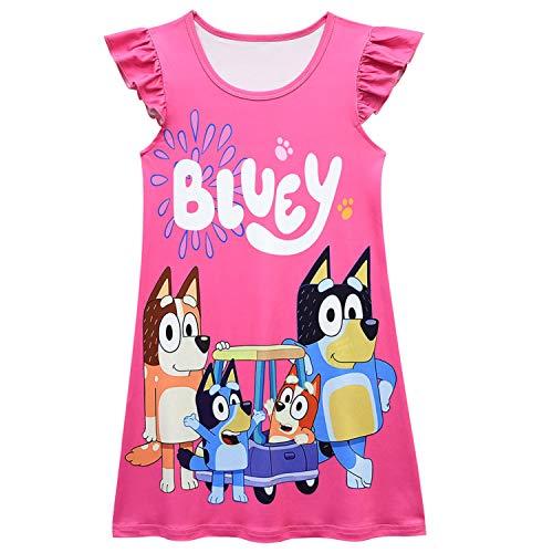 Lotusuncostume Toddler Girls Princess Cartoon Dress Print Dress Kids Home Princess Costume Red 120