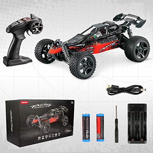 RC Auto kaufen Buggy Bild 2: Hosim 1:16 Scale 4WD Remote Control RC Truck G171, High Speed Racing Vehicle 36km/h Radio Controlled Off-Road 2.4Ghz RC Car Electronic Monster Hobby Truck R/C RTR Car Buggy for Kids Adults Birthday*