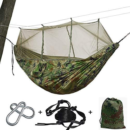 OH Hamocks Ultralight Parachute Net Kids Hammock Swing Mosquito Travel Outdoor Portable Garden Easy to Store