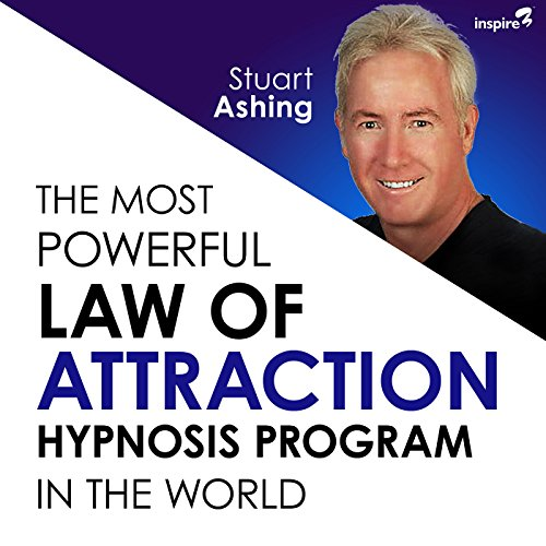 The Most Powerful Law of Attraction Hypnosis Program in the World audiobook cover art