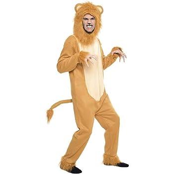 Guirca- Disfraz adulto león, Talla 52-54 (80307.0): Amazon.es ...
