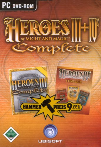 Heroes of Might & Magic 3 Complete + Heroes of Might & Magic 4 Complete [HPR)]