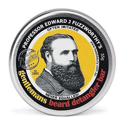 Professor Fuzzworthy's Beard CONDITIONER Deep Detangler Wash | 100% All Natural Chemical Free | Tasmanian Beer & Honey | Organic Essential Plant Oils | Travel Friendly Handmade in Tasmania Australia (Health and Beauty)
