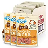 Good Boy - Bitesize Chicken Bites - Dog Training Treats - Made with Over 50% Natural Meat - 65 g ℮ - Low Fat Dog Treats - Case of 10