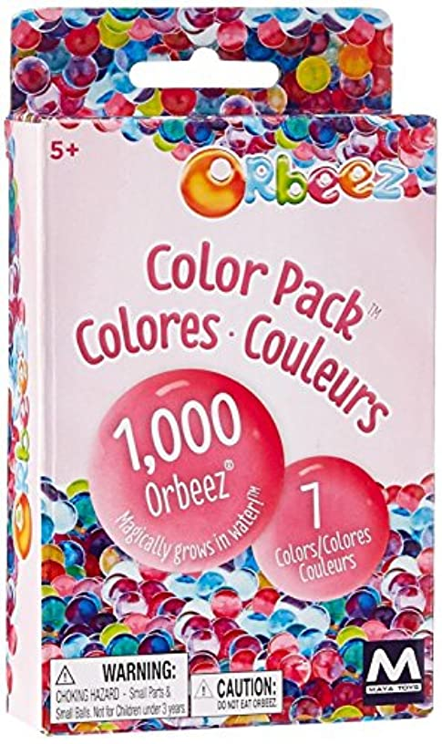Orbeez Color Pack Refill Kit - 7 Colors - Includes 1,000 Orbeez