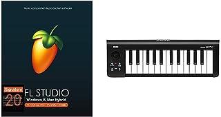 Image-Line Software FL STUDIO 20 Signature EDM向け音楽制作用DAW Mac/Windows対応【国内正規品】 & KORG USB MIDIキーボード microKEY-25 マイクロキー 25鍵