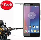 2 Pack - Lenovo K6 Verre Trempé, Vitre Protection Film de protecteur d'écran Glass Film Tempered Glass Screen...