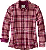 Legendary Whitetails Women's Legendary Flannel, Frosted Rose Plaid, Medium