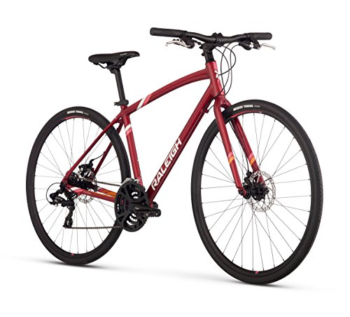 Raleigh Alysa 2 Women's Urban Fitness Bike, 15' /Sm Frame, Red, 15' / Small