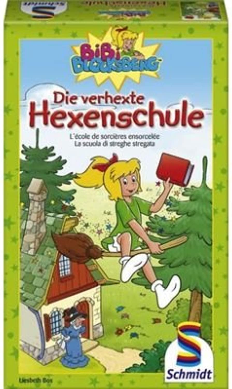 Schmidt Spiele 51129  Bibi Blocksberg, Die verhexte Hexenschule