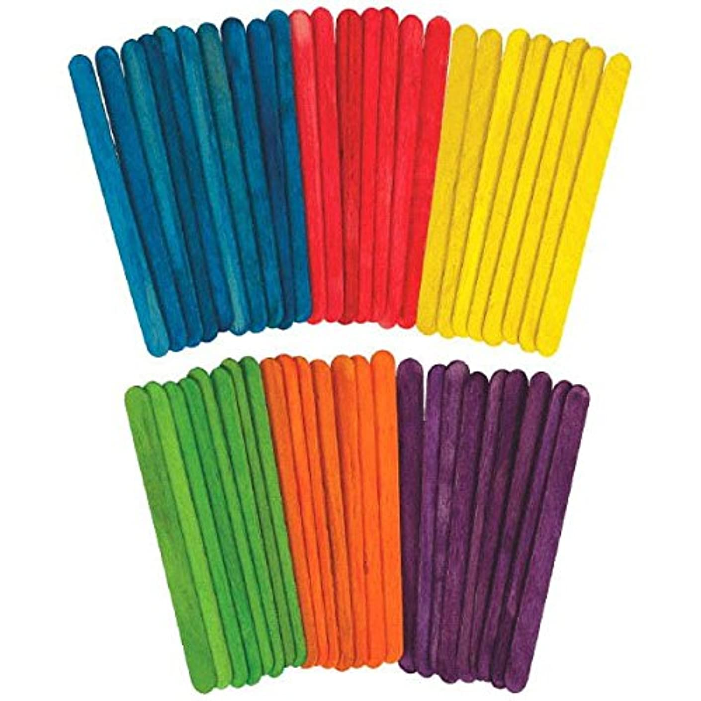 Primary Wooden Sticks | Party Favor | 100 Ct.