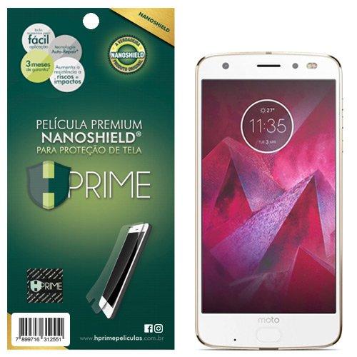 Pelicula HPrime NanoShield para Motorola Moto Z2 Force, Hprime, Película Protetora de Tela para Celular, Transparente